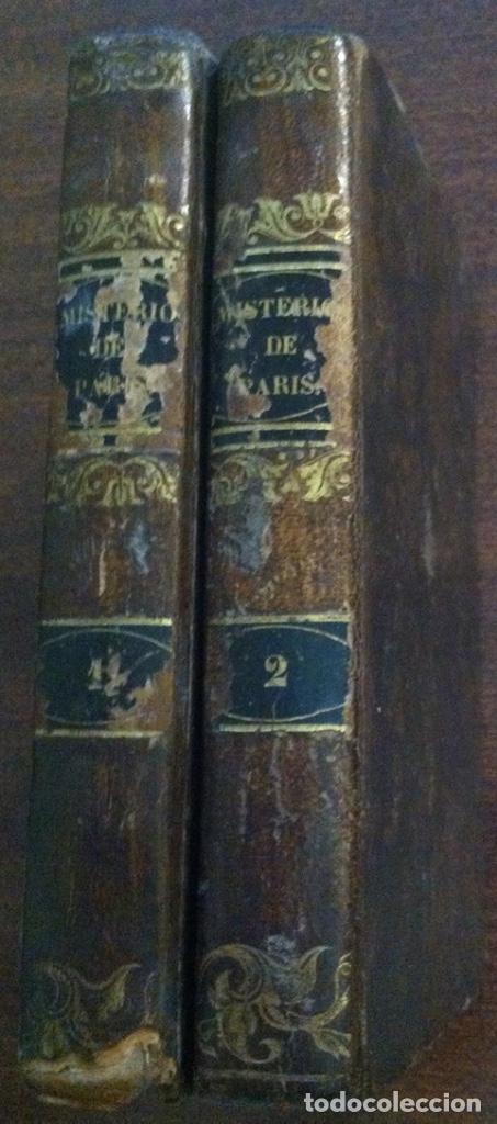 LOS MISTERIOS DE PARÍS - EUGENIO SUE - IMPRENTA DE SAURÍ, BARCELONA, 1845 (TOMOS) (Libros antiguos (hasta 1936), raros y curiosos - Literatura - Narrativa - Novela Romántica)