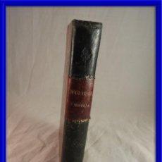 Libros antiguos: INSOLACION Y MORRIÑA POR EMILIA PARDO BAZAN IMPRIME AGUSTIN AVRIAL. Lote 120132403