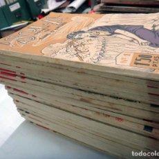 Libros antiguos: LOTE 25 NOVELAS, NOVELA SOLA, DE MARIO D'ANCONA, DE 1 A 25, PERTEGAS , EDITORIAL GUERRI ,. Lote 120229931