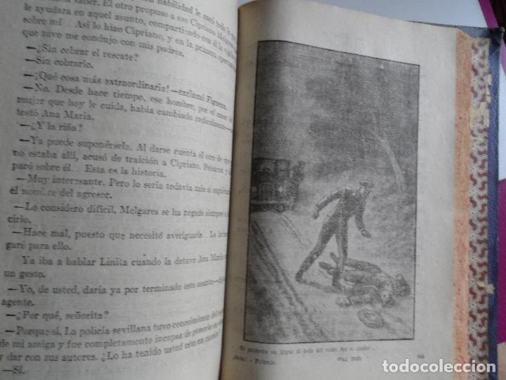 Libros antiguos: !SOLA¡ FOLLETIN - MARIO D'ANCONA (PSEUDÓNIMO) DOS TOMOS AÑOS 30 3833 PAGINAS - Foto 2 - 121660251