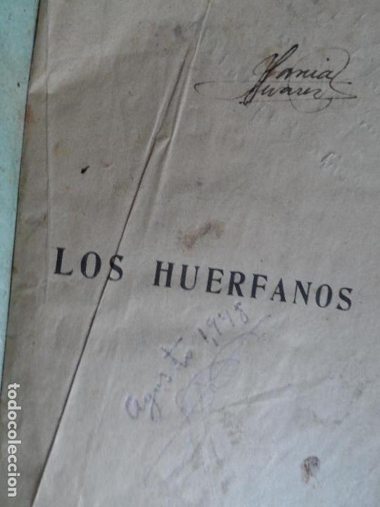 LOS HUERFANOS LUIS DE VAL TOMO I Y TOMO II (Libros antiguos (hasta 1936), raros y curiosos - Literatura - Narrativa - Novela Romántica)