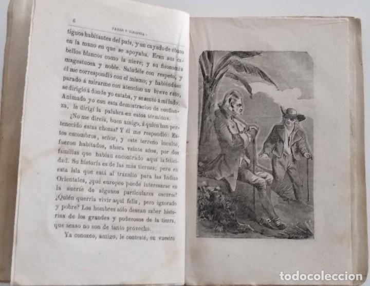 Libros antiguos: PABLO Y VIRGINIA - JACOBO BERNARDINO ENRIQUE - JESÚS GRACIA EDITOR - MADRID 1878 - Foto 4 - 122103799