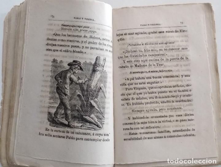 Libros antiguos: PABLO Y VIRGINIA - JACOBO BERNARDINO ENRIQUE - JESÚS GRACIA EDITOR - MADRID 1878 - Foto 5 - 122103799