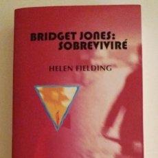 Libros antiguos: 'BRIDGET JONES: SOBREVIVIRÉ' DE HELEN FIELDING. ED. LUMEN (COL. LUMEN FEMENINO), 2.000 - 440 PÁGS.. Lote 122300215