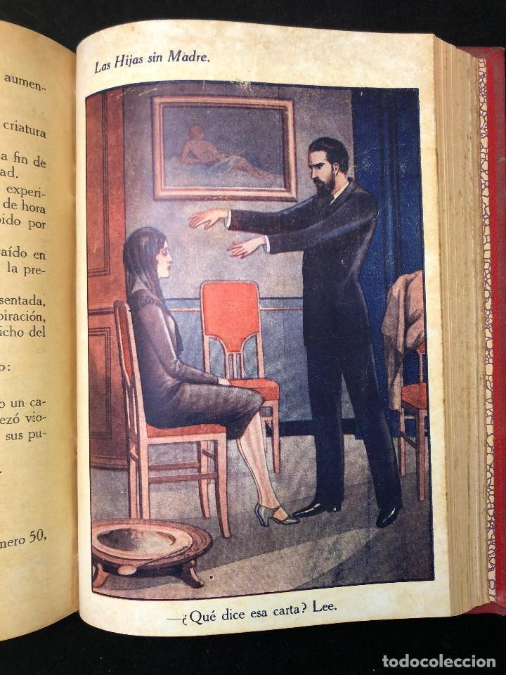 LAS HIJAS SIN MADRE. NOVELA DE COSTUMBRES. FINALES S. XIX (Libros antiguos (hasta 1936), raros y curiosos - Literatura - Narrativa - Novela Romántica)
