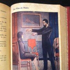 Libros antiguos: LAS HIJAS SIN MADRE. NOVELA DE COSTUMBRES. FINALES S. XIX. Lote 123581139