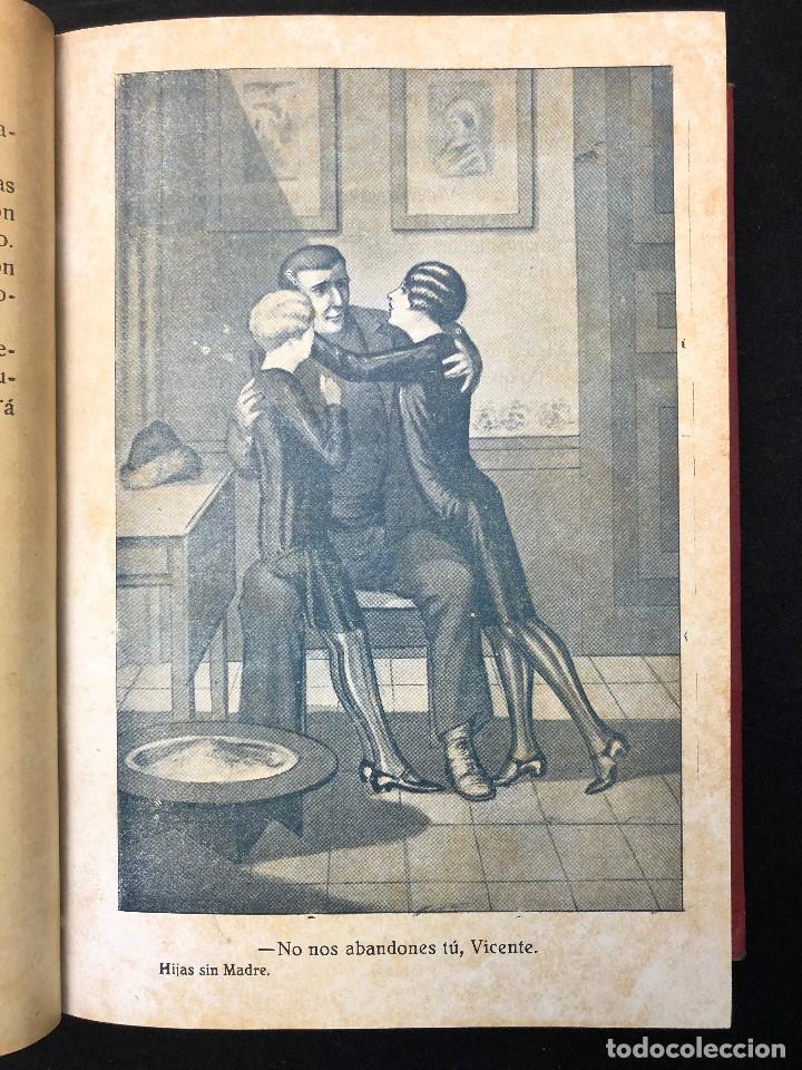 Libros antiguos: LAS HIJAS SIN MADRE. NOVELA DE COSTUMBRES. FINALES S. XIX - Foto 3 - 123581139