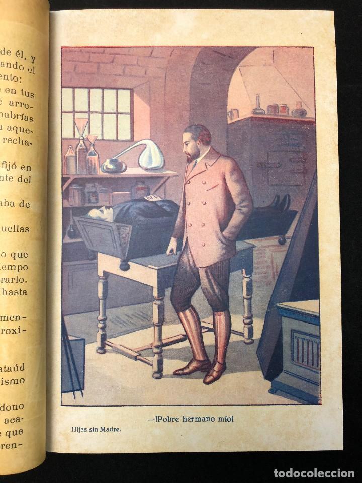 Libros antiguos: LAS HIJAS SIN MADRE. NOVELA DE COSTUMBRES. FINALES S. XIX - Foto 4 - 123581139