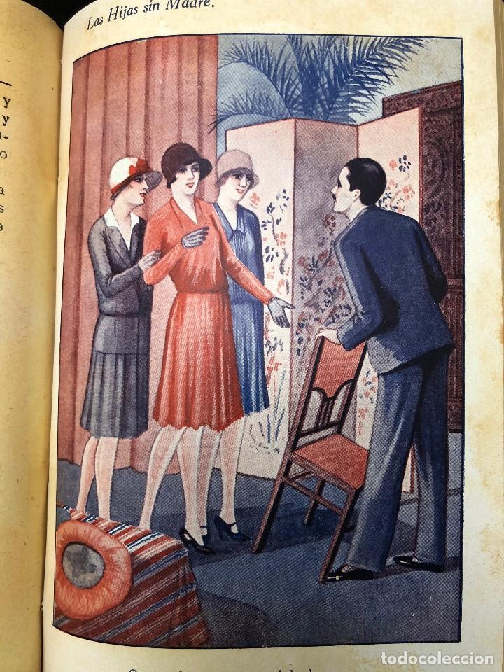 Libros antiguos: LAS HIJAS SIN MADRE. NOVELA DE COSTUMBRES. FINALES S. XIX - Foto 6 - 123581139