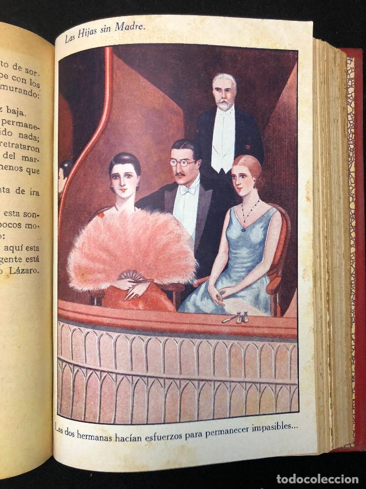 Libros antiguos: LAS HIJAS SIN MADRE. NOVELA DE COSTUMBRES. FINALES S. XIX - Foto 7 - 123581139