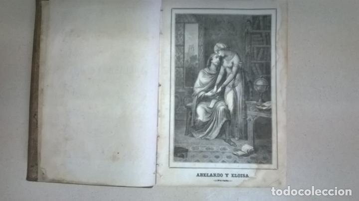 Libros antiguos: Libro.Abelardo y Eloisa. Año 1867. Medida 15 x 22 cm.624 pg - Foto 6 - 126308883