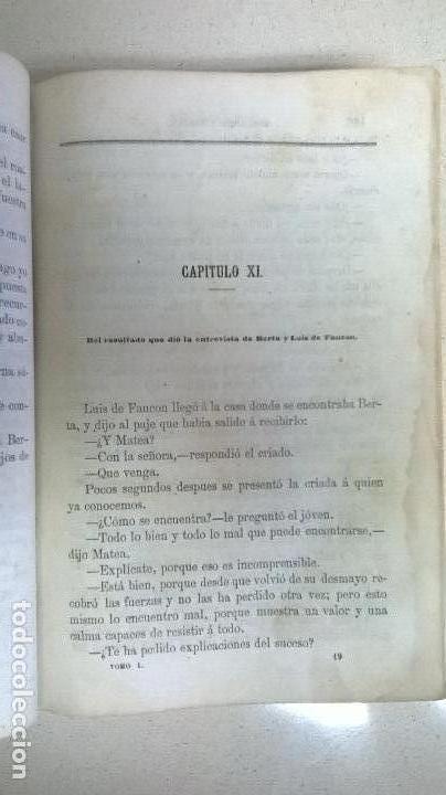 Libros antiguos: Libro.Abelardo y Eloisa. Año 1867. Medida 15 x 22 cm.624 pg - Foto 9 - 126308883