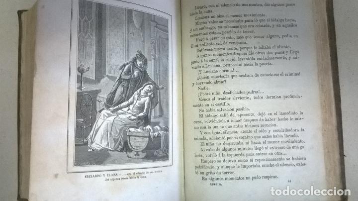 Libros antiguos: Libro.Abelardo y Eloisa. Año 1867. Medida 15 x 22 cm.624 pg - Foto 14 - 126308883