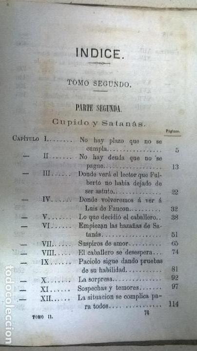Libros antiguos: Libro.Abelardo y Eloisa. Año 1867. Medida 15 x 22 cm.624 pg - Foto 15 - 126308883