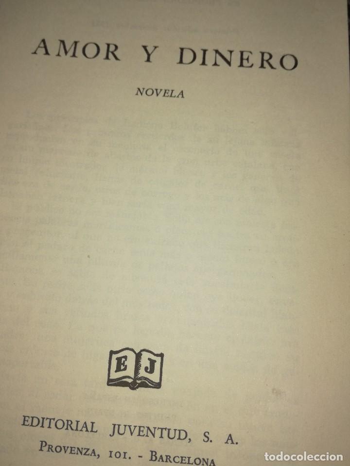 Libros antiguos: Amor y dinero,por Rafael Pérez y Pérez - Foto 2 - 126397535
