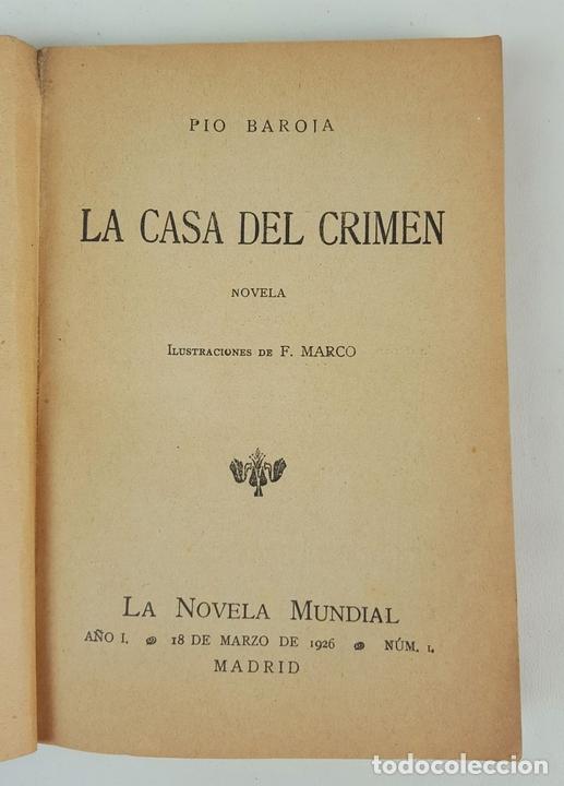 Libros antiguos: LA NOVELA MUNDIAL. 8 EJEMPLARES. VARIOS AUTORES. MADRID. 1926/1928. - Foto 3 - 128246787