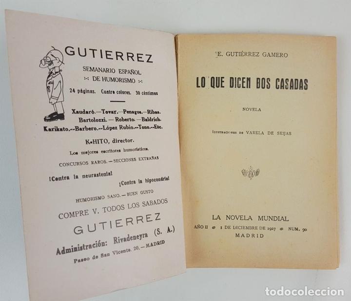 Libros antiguos: LA NOVELA MUNDIAL. 8 EJEMPLARES. VARIOS AUTORES. MADRID. 1926/1928. - Foto 5 - 128246787