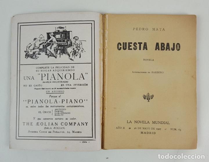 Libros antiguos: LA NOVELA MUNDIAL. 8 EJEMPLARES. VARIOS AUTORES. MADRID. 1926/1928. - Foto 9 - 128246787