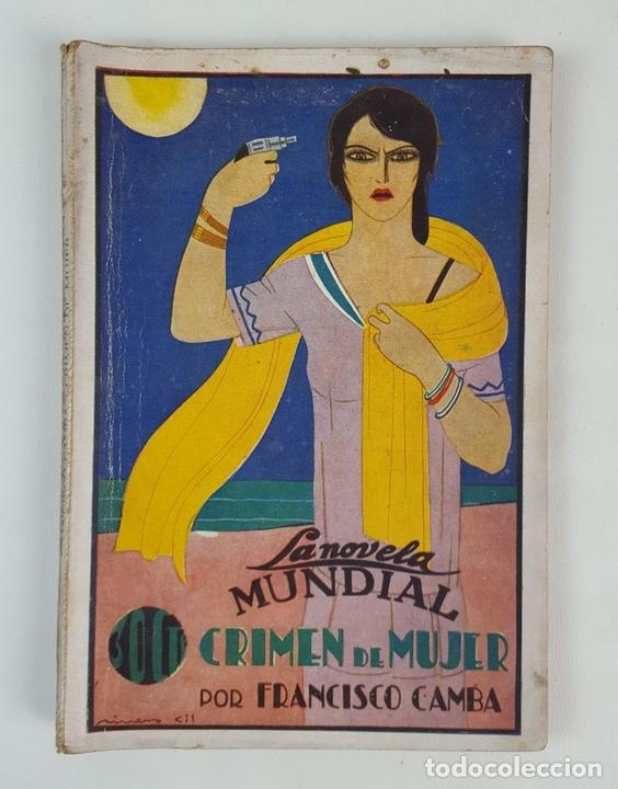 Libros antiguos: LA NOVELA MUNDIAL. 8 EJEMPLARES. VARIOS AUTORES. MADRID. 1926/1928. - Foto 10 - 128246787