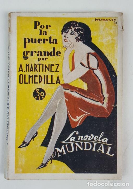Libros antiguos: LA NOVELA MUNDIAL. 8 EJEMPLARES. VARIOS AUTORES. MADRID. 1926/1928. - Foto 12 - 128246787