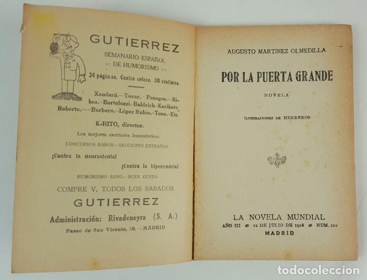 Libros antiguos: LA NOVELA MUNDIAL. 8 EJEMPLARES. VARIOS AUTORES. MADRID. 1926/1928. - Foto 13 - 128246787
