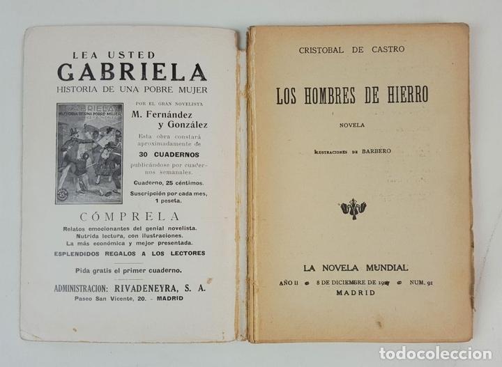 Libros antiguos: LA NOVELA MUNDIAL. 8 EJEMPLARES. VARIOS AUTORES. MADRID. 1926/1928. - Foto 15 - 128246787