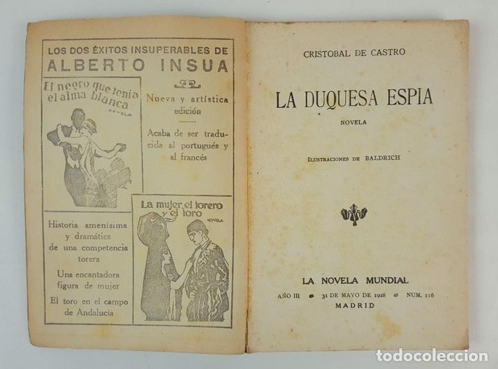 Libros antiguos: LA NOVELA MUNDIAL. 8 EJEMPLARES. VARIOS AUTORES. MADRID. 1926/1928. - Foto 17 - 128246787