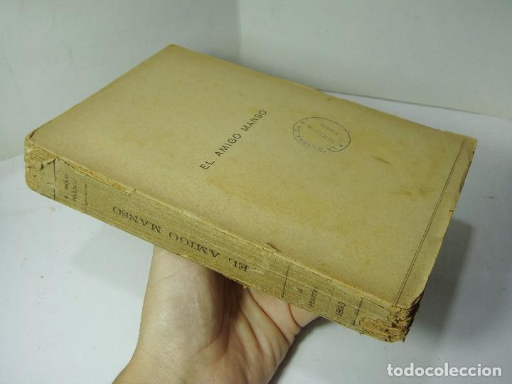 Libros antiguos: EL AMIGO MANSO - B. PÉREZ GALDÓS - 1893 - Foto 2 - 128913487