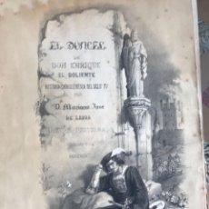 Libros antiguos: EL DONCEL DE DON ENRIQUE EL DOLIENTE - MARIANO JOSÉ DE LARRA 1852-1854. Lote 129172915