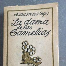 Libros antiguos: LA DAMA DE LAS CAMELIAS, ALEJANDRO DUMAS - EDITORIAL ESTRELLA. Lote 129312624