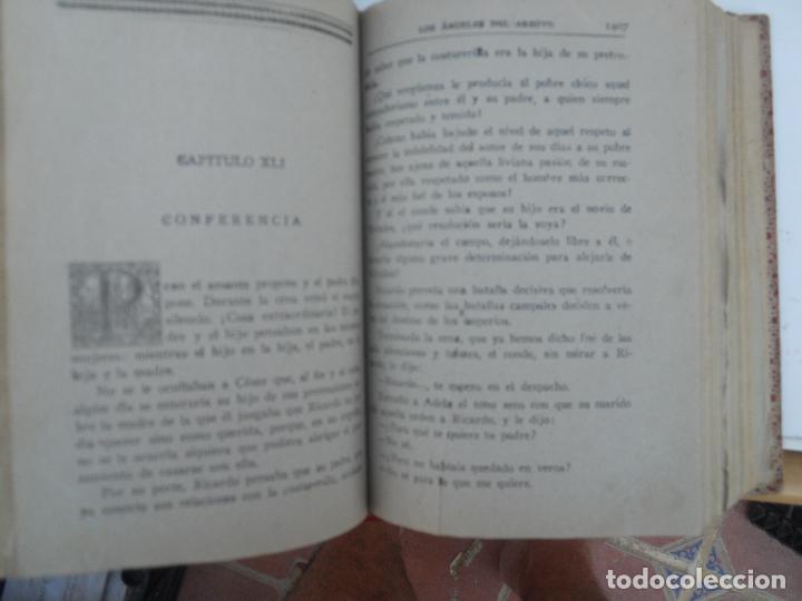 Libros antiguos: LOS ÁNGELES DEL ARROYO (3 TOMOS) - LUIS DEL VAL EDITORIAL CASTRO - Foto 5 - 129636611