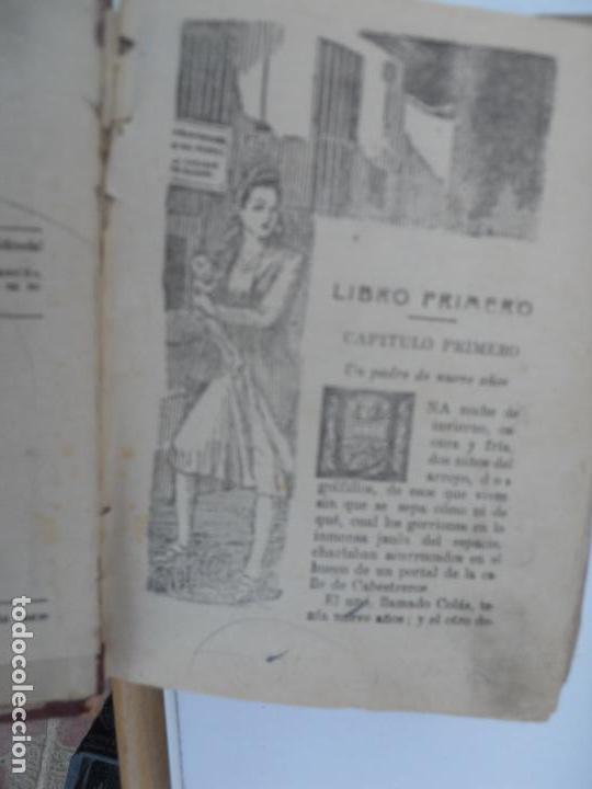 Libros antiguos: LOS ÁNGELES DEL ARROYO (3 TOMOS) - LUIS DEL VAL EDITORIAL CASTRO - Foto 7 - 129636611