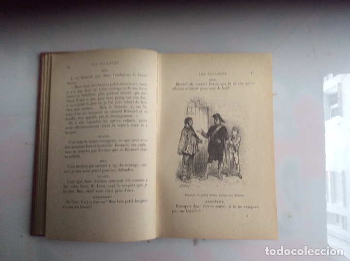 Libros antiguos: LES VACANCES. LA COMTESSE DE SEGUR. -ED. HACHETTE 1911 - edicion en frances - Foto 3 - 132198642