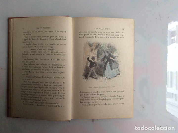 Libros antiguos: LES VACANCES. LA COMTESSE DE SEGUR. -ED. HACHETTE 1911 - edicion en frances - Foto 4 - 132198642