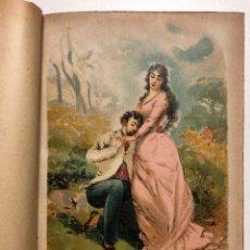 Libros antiguos: EL AMOR CONTRARIADO. NOVELA DE COSTUMBRES. CIRCA 1890. Lote 132657874