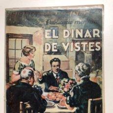 Libros antiguos: CLOVIS EIMERIC. EL DINAR DE VISTES. BIBLIOTECA DAMISEL.LA. Lote 133652822