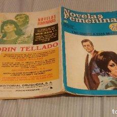 Libros antiguos: CORIN TELLADO BRUGUERA NOVELAS FEMENINAS Nº 29 -NO QUIERO A ESTA MUJER. Lote 134269666