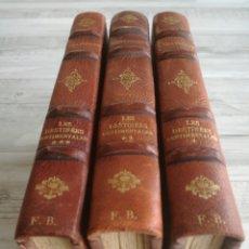 Libros antiguos: LES DESTINEES SENTIMENTALES (1934-1936) - TRILOGÍA LOS DESTINOS SENTIMENTALES, JACQUES CHARDONNE. Lote 134926685