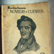 Libros antiguos: REVISTA LITERARIA, NOVELAS Y CUENTOS, GRAZIELLA Nº 8 AÑO 1929.. Lote 134947202