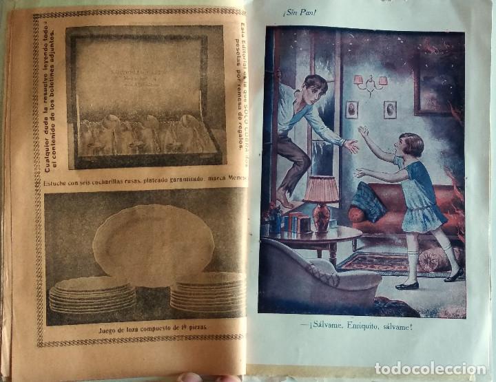 Libros antiguos: SIN PAN O LA VIRTUD DEL OBRERO - LUIS DE VAL - PRIMER NÚMERO COLECCIONABLE - EDITORIAL MANUEL CASTRO - Foto 3 - 135743202