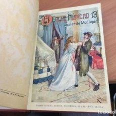 Livres anciens: EL COCHE NUMERO Nº 13 (XAVIER DE MONTEPIN) (LB46). Lote 237497265