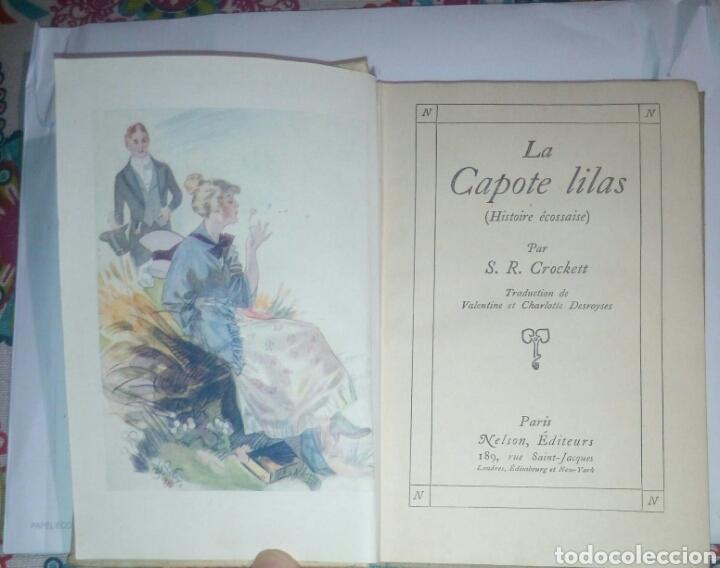 Libros antiguos: La capote lilas S R Crockett 1894. idioma Frances - Foto 2 - 136761300