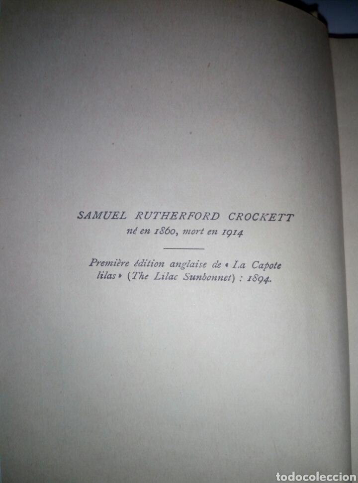 Libros antiguos: La capote lilas S R Crockett 1894. idioma Frances - Foto 3 - 136761300