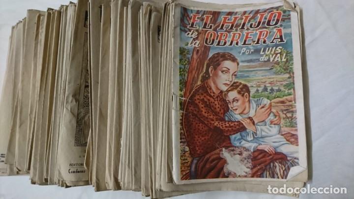 EL HIJO DE LA OBRERA, LUÍS DEL VAL, 269 CUADERNOS (Libros antiguos (hasta 1936), raros y curiosos - Literatura - Narrativa - Novela Romántica)