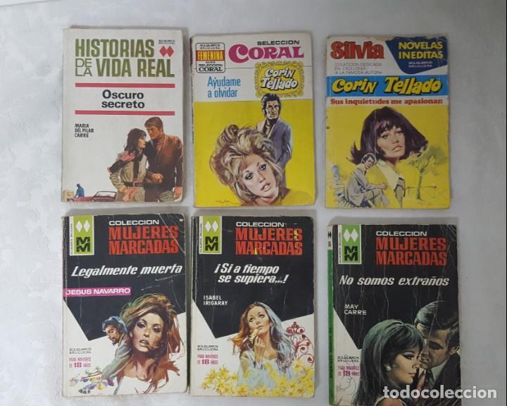 LOTE DE NOVELAS ROMÁNTICAS CORIN TELLADO, ETC (Libros antiguos (hasta 1936), raros y curiosos - Literatura - Narrativa - Novela Romántica)