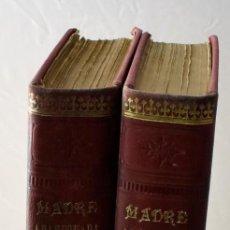 Libros antiguos: MADRE ABANDONADA O EL CASTIGO DEL CIELO, EN DOS TOMOS. ÁLVARO CARRILLO. Lote 141690726