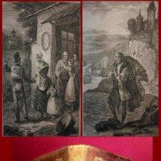 Libros antiguos: BELLISIMO LIBRO DE 1842- GRABADOS;- SOLO DOS EJEMPLARES (LEER). Lote 143448950