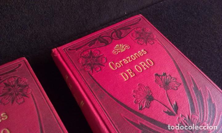 Libros antiguos: CORAZONES DE ORO – D.F. LUIS OBIOLS - S XIX - Foto 2 - 145772014