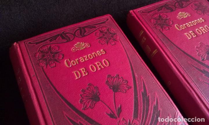 Libros antiguos: CORAZONES DE ORO – D.F. LUIS OBIOLS - S XIX - Foto 3 - 145772014