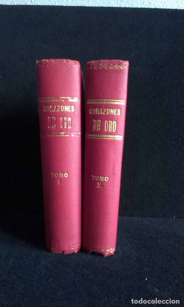 Libros antiguos: CORAZONES DE ORO – D.F. LUIS OBIOLS - S XIX - Foto 4 - 145772014